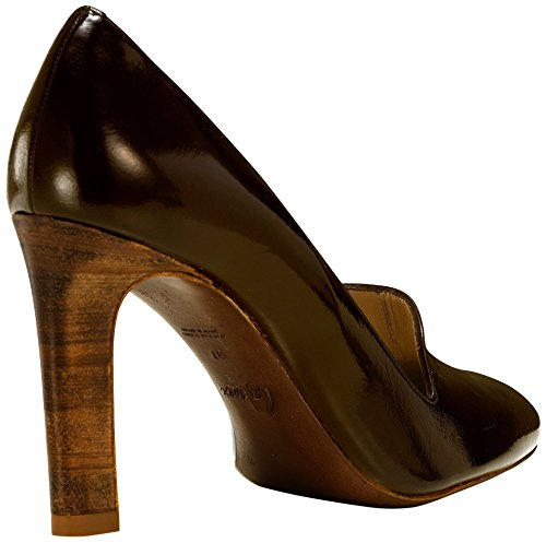Castañer Roser / Kid Patent Damen Pumps Dark Brown