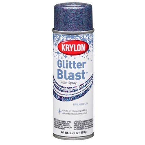 Krylon K03811 Glitter Blast, Twilight Sky by Krylon