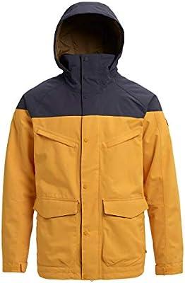 Burton Breach Chaqueta de Snowboard, Hombre, Amarillo (Golden Rod/trocadero), M: Amazon.es: Deportes y aire libre