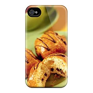Cute High Quality Iphone 4/4s Bagels Case
