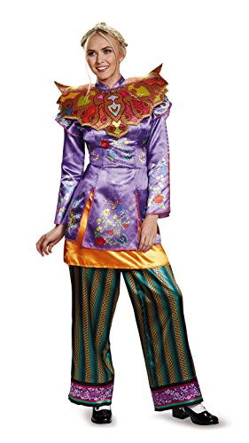 [Disney Women's Alice Asian Look Deluxe Costume, Multi, Large] (Halloween Costumes Asian)