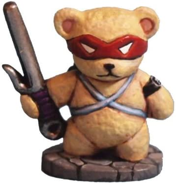 Amazon.com: Aurora Model Game Miniatures Teddy Bear Ninja ...