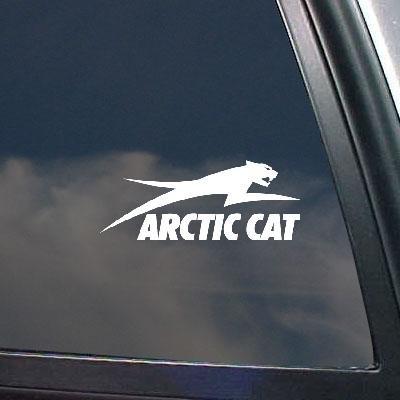 Home Decor Decal Sticker Die Cut Bike Arctic Cat Decor White Wall Art Car Helmet Wall Decoration Notebook Snowmobile Art Auto Macbook Vinyl Car Window Adhesive ()