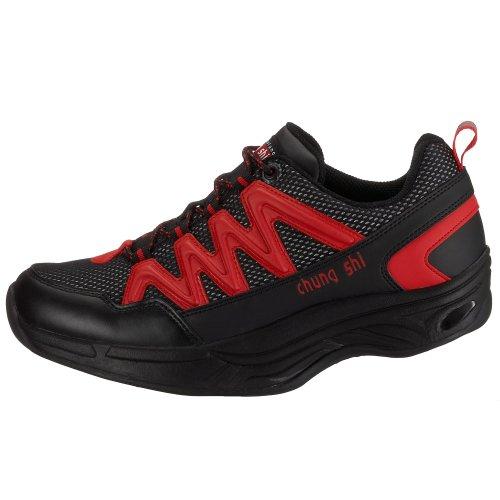 shi Chaussures Chung Comfort Marche Noir Rot De schwarz Hommes Pour Schwarz FFtwpqxT