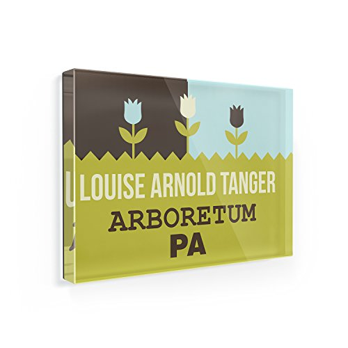 Fridge Magnet US Gardens Louise Arnold Tanger Arboretum - PA - - Pa Tanger