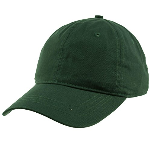 Everyday Unisex Cotton Dad Hat Plain Blank Baseball Adjustable Ball Cap Hunter Green