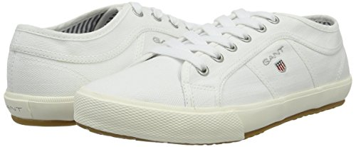 Uomo white Sneaker Samuel Bianco Gant qnvRTw