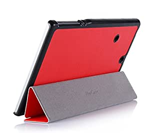 ProCase SlimSnug Case for Dell Venue 8 7000 7840 Android Tablet, Ultra Slim and light, Hard Shell Cover, with Stand, Exclusive for New Venue 8 7000 7840 Tablet V7840 (Red)
