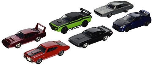 Fast & Furious Build N Collect Wave 2, 6pc Diecast Car Set IN BLISTER PACKS 1/55 by - Set Car 55 Diecast