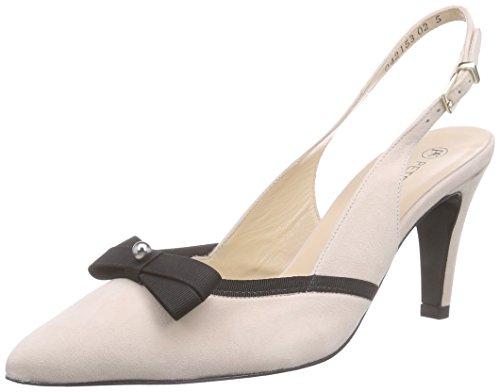 Peter Kaiser PARI - Zapatos de Talón Abierto, Mujer Rosa / Negro