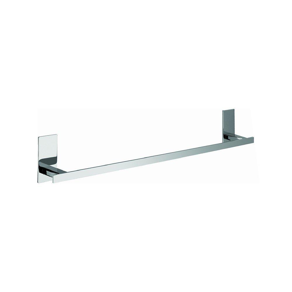 Aquasanit - Porta salviette cm 30, fissaggio ad incollo o con viti - Serie Flat - A10790ACR
