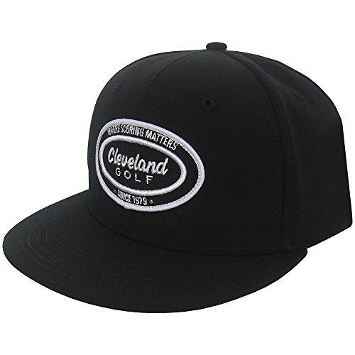 (Cleveland Golf Men's Seven 9 Golf Cap, One Size, Black)