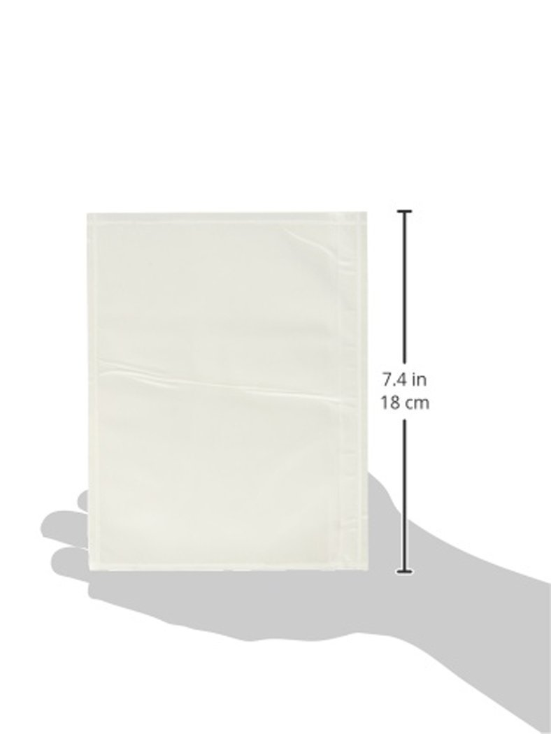 7.5'' x 5.5'' Clear Adhesive Top Loading Packing List / Shipping Label Envelopes Pouches (100 pk) (3 PACKS OF 100) by Unknown