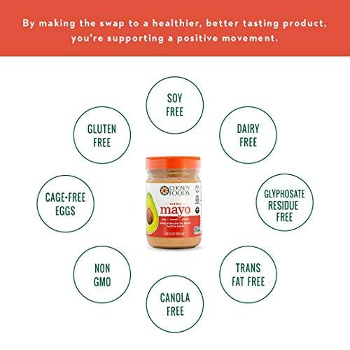 Chosen Foods Mayo Avocado Oil Harissa, 12 oz (Packaging may vary)
