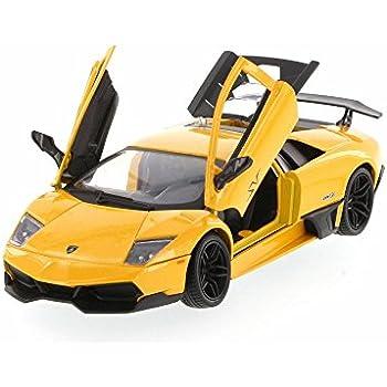 Lamborghini Murcielago LP670,4 SV, Yellow , Motormax 73350YL , 1/24 Scale  Diecast Model Toy Car
