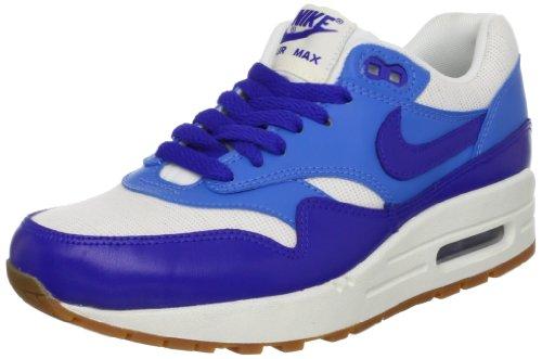 Nike Damen Air Max 1 Vintage Sneakers, Blau/Weiß 39