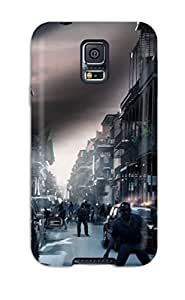 Flexible Tpu Back Case Cover For Galaxy S5 - Left Dead