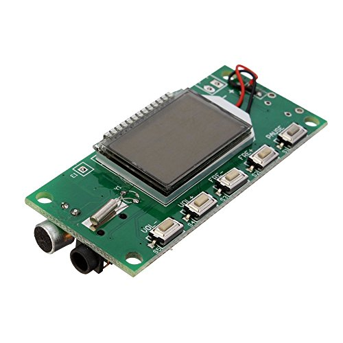 Fm Transmitter Circuits - Quickbuying DSP PLL 87-108MHz Digital Wireless Microphone Stereo FM Transmitter Module Integrated Circuits Board 26.5x49mm