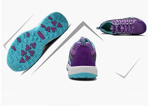 Zapatos sportsZapatos Antideslizante para para Aire Caminar Desgaste amp;HX Caminar Antideslizante Al Z purple Libre Cxw04fv5