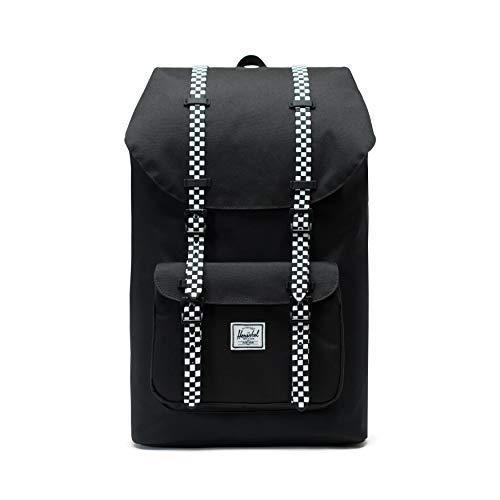 Herschel Little America Backpack, Black/Checkerboard, One Size
