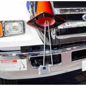 Horizon Manufacturing 5911 Horizon Mfg. Traffic Cone Holder, Holds 18'' & 28'' Traffic Cones
