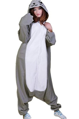 Amazon.com: WOTOGOLD Animal Cosplay Costume Dolphin Men Women Pajamas Gray (XL): Clothing