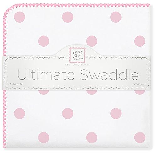 SwaddleDesigns Ultimate Swaddle Blanket Premium
