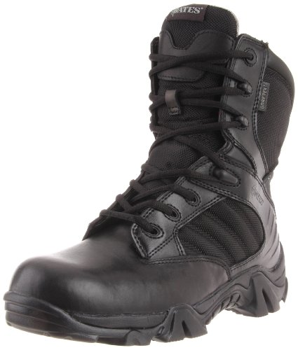 Bates Men's Gx-8 GTX Side Zip Combat Boot,Black,7.5 EW US]()