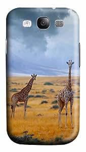 Giraffe PC Case Cover for Samsung Galaxy S3 I93003D