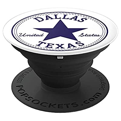Dallas Texas United States USA United States - PopSockets Grip and Stand for Phones and Tablets