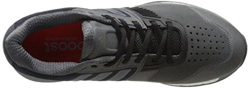 Mens Adidas Performance Crazytrain Aumentare Cross-training Shoe Grigio Scuro / Notte Metallizzato / Rosso Solare