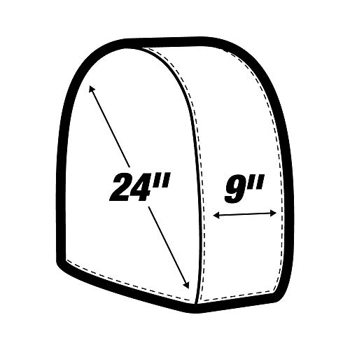 32'' Heavy Canvas Wheel Masker/Protection Set - 4pc by AES Industries (Image #2)