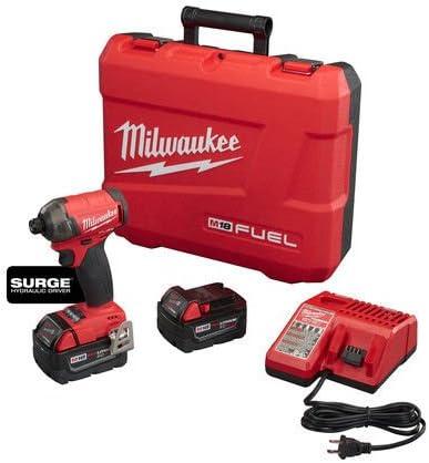 Milwaukee Elec Tool DB303552 Fuel Surge 1 4 Hex Hydraulic Driver Kit