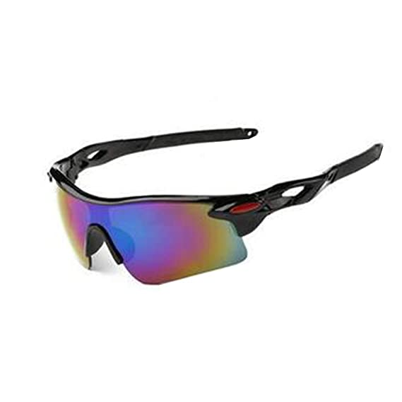 Lubier 1Pcs Gafas de Sol Deportivas Polarizadas Proteccion UV Hombre Mujer Sunglasses al Aire Libre Unisex Deportes Gafas Ciclismo Correr Pesca Golf