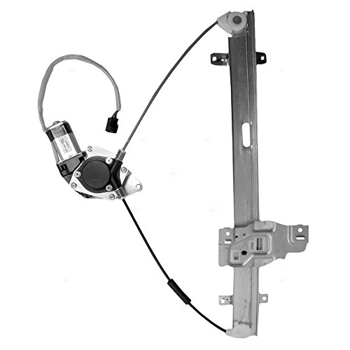 Drivers Front Power Window Lift Regulator with Motor Assembly Replacement for Honda Isuzu Pickup Truck 8972544530