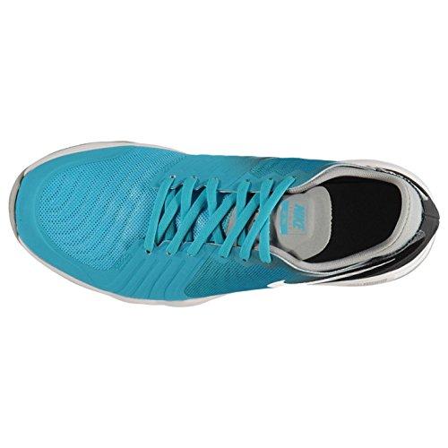Nike Dual Fusion Print Zapatillas de running para mujer azul/plata Run zapatillas zapatillas, multicolor