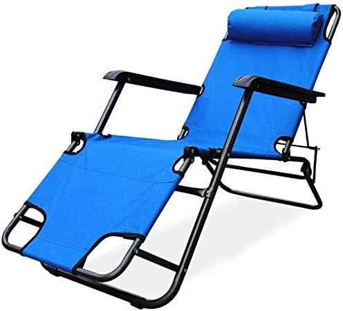ADHW Reclinable, sillas reclinables Exterior, Tumbona, Balcón reclinables Sillas de Cubierta, al Aire Libre Jardín Mecedora Silla de relajación: Amazon.es: Hogar