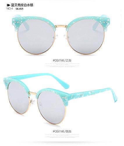Gafas 1326C4 Revestimiento El Sol Dulce Redondo Square Mujer Ojo TIANLIANG04 Cay Espejo De Gafas Multi Sol De De Oq1naH