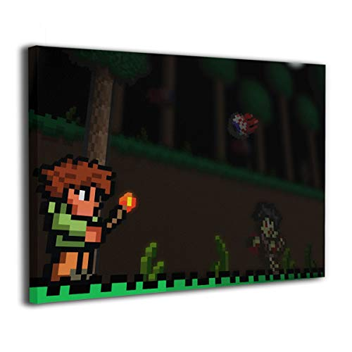 Terraria - Giclee Wall Art 3D Print Painting None Frame Decorative for Home Decorations]()