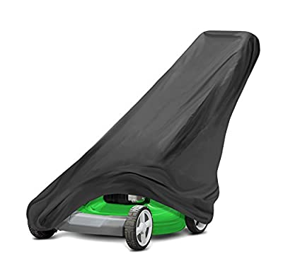 Pyle PCVLM36 Armor Shield Lawn Mower Protective Storage Cover, Indoor/Outdoor