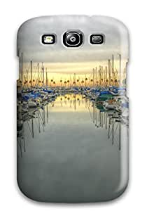 AnnaSanders Fashion Protective Locations Orange County Case Cover For Galaxy S3