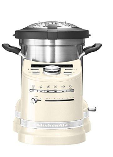 KITCHENAID 5KCF0103EAC/4 Artisan Küchenmaschine mit Kochfunktion Creme 1500 Watt