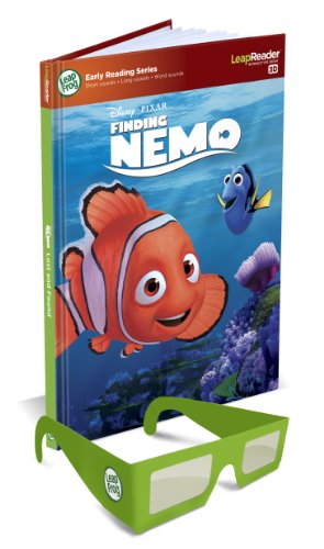 LeapFrog LeapReader Disney/Pixar Finding Nemo 3D Book (Works with Tag)