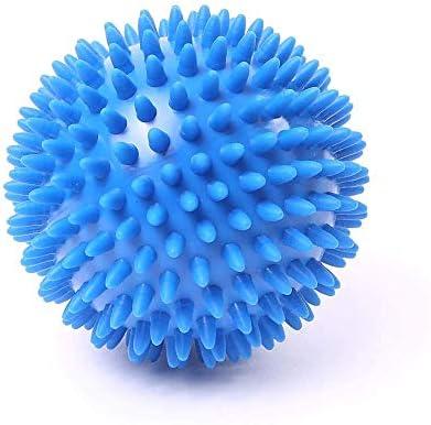 66Fit - Bola masajeadora con pinchos (dura, 1 unidad, 10 cm ...