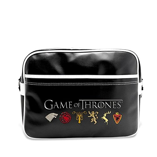 Game of Thrones - TV Serien Messenger Tasche Umhängetasche - House Wappen