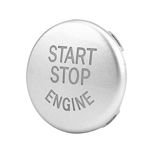 3 Types ABS Push Button Car Engine Start Stop Switch Button Replace Cover For BMW F/G/E Chassis (E Chassis)