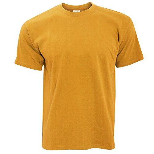 B&C - Camiseta Básica de manga corta para hombre - 100% algodon Gris Oscuro