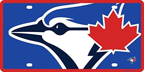 Stockdale Toronto Blue Jays Mega Logo Premium Laser Cut Tag Acrylic License Plate Baseball