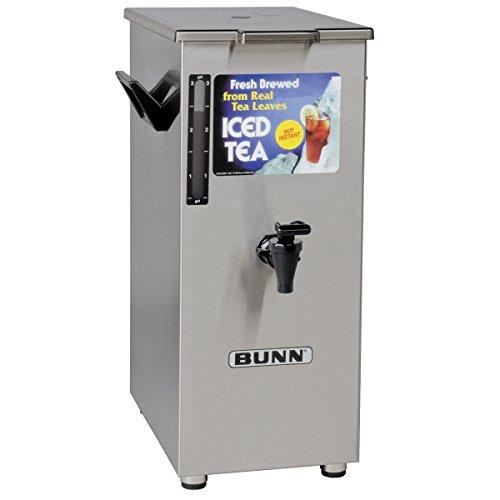 Bunn 4 Gallon Tall Iced Tea Dispenser w/ Solid Lid by Bunn