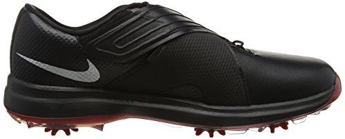 Pictures of NIKE Men's TW'17 Golf Shoes, Black/Metallic Silver-Anthracite, 9.5 M US 3